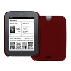 EMPIRE Red Rubberized Stealth Hard Case Cover for Barnes and Noble Nook Simple Touch by EMPIRE. $5.85. This Barnes and Noble Nook Red rubberized case cover provides excellent protection from dust, scratches, and unwanted blemishes. The Barnes and Noble Nook Red rubberized case cover also allows for full functionality of your device with openings for all buttons, ports, jacks, and speakers. Provide your device with excellent protection and give it a fashionable an...