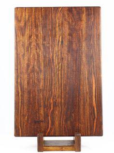 Caribbean Rosewood Butcher Block Cutting Board $150