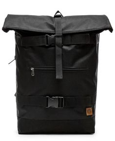 OBEY - REVOLT ROLLTOP BAG (BLACK)