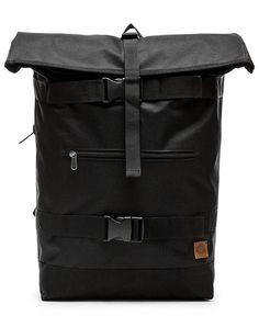 OBEY - REVOLT ROLLTOP BAG (BLACK)