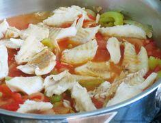 Bacalo Guisado Stewed Salted Cod