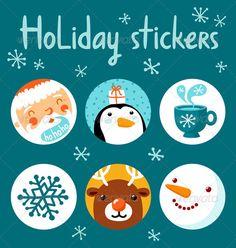 Holiday Stickers - Seasons/Holidays Conceptual