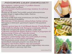 Najważniejsze zasady zdrowej diety