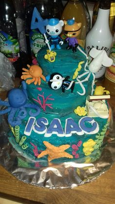 Isaac's 4th birthday cake