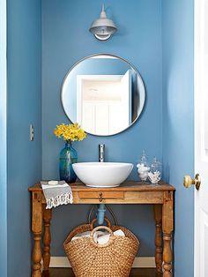 Baños pequeños y elegantes #decoracion