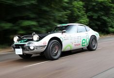 Toyota 2000GT Solar Electric Vehicle