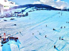 Das ist unser kleiner Lift für alle Skianfänger. Goldegg am See Ski Trips, Winter Vacations, Family Vacations, Landscape