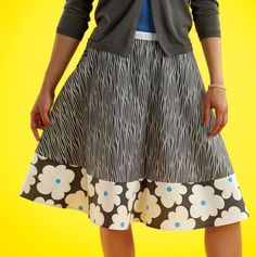 Free skirt pattern   (must look thru all the pages; lots of projects)