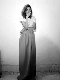 Shortkat Fashionista : Dree Hemingway in Jil Sander Dree Hemingway, Look Fashion, Womens Fashion, Pink Maxi, Costume, Editorial Fashion, Dame, Fashion Photography, Dress Up