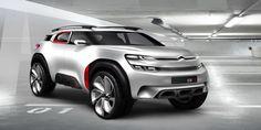 Gashetka   Transportation Design   2015   Citroen Aircross Concept   Design...