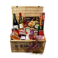 Luxury Christmas Hamper - a tasty selection of the best from Scotland larder. It is