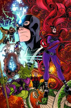 Civil War #1: Inhumans 50th Anniversary variant cover by Nick Bradshaw *