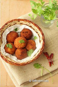 aloo kofta / potato curry / dumplings in tomato-yogurt sauce