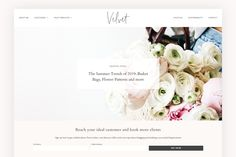 Modern Blog & Shop Theme - Velvet  WordPress Themes | Lifestyle Blog Theme | Fashion Blogger | GirlBoss   Blog Design | Feminine WordPress Theme | Pink WordPress Theme for Beauty   Bloggers #WordPressTheme #BlogDesignInspo #BlogDesign