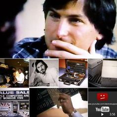 IN A LITTLE-SEEN EARLY #APPLE #VIDEO, #JOBS AND #WOZNIAK TALK ABOUT THE COMPANY'S BEGINNINGS: There are some wonderfully evocative photos of old-timey computer stores...