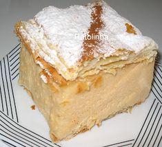 Ratolinha - Receitas de Culinária, Hobbies: Ponto de cruz, Fotos...: Pastel Mil Folhas