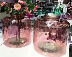 XL Glazen vaas oud roze Xl, Mason Jars, Home Decor, Decoration Home, Room Decor, Mason Jar, Home Interior Design, Home Decoration, Glass Jars