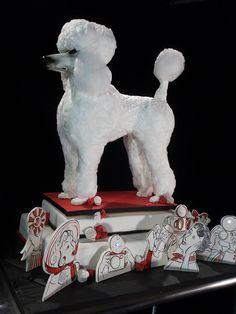 ".""Best in Show"" Standard Poodle Cake for a Food Network Challenge, by Karen Portaleo/Highland Bakery"