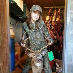 Girls hunt too.