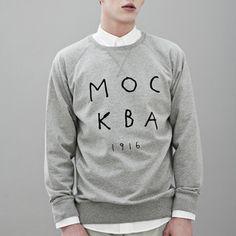 Mockba 1916 Sweatshirt Grey now featured on Fab.