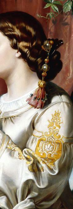 .:. Nicolaes Bercham. Othello and Desdemona