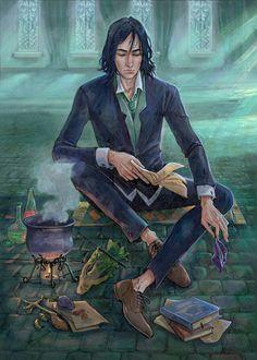 Defender Of Severus Snape: Photo Harry Potter Poster, Harry Potter Anime, Arte Do Harry Potter, Harry Potter Universal, Harry Potter Fandom, Harry Potter World, Harry Potter Hogwarts, Professor Severus Snape, Harry Potter Severus Snape