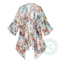 Go with the flow. Breeze through the season in a flowy kimono for lightweight coverage that packs a punch. #trendalert