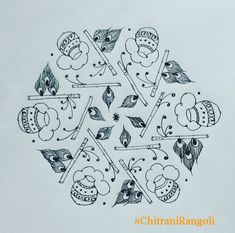 Rangoli With Dots, Collections, Art, Art Background, Kunst, Gcse Art