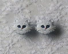 White Cat Plugs Gauges by PorcupineSpines, $18.00