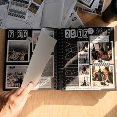 Travel photo album for your memories, Polaroid photo album friends, personalized wedding album, photo scrapbook