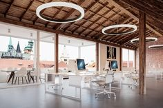Glowring ™ pendant - ocl architectural lighting product :: g Architecture Building Design, Architecture Graphics, Facade Architecture, Recessed Ceiling, Ceiling Lights, Facade Lighting, Classic Building, Modern Windows, Architectural Section