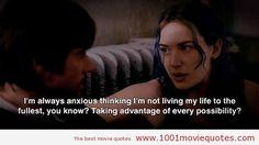 Eternal Sunshine of the Spotless Mind (2004)  good movie. words so true.