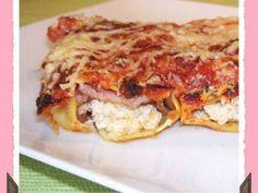 Cannellonis poulet mozzarella et bacon (6 points ww)