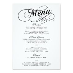 Blank fancy menu template google search halloween for Fancy dinner menu template