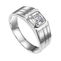 Items similar to Mens Wedding Band, Moissanite ring Anniversary ring Engagement ring Band for men Gifts for husband Custom jewelry white gold DEF colour on Etsy Beautiful Engagement Rings, Band Engagement Ring, Wedding Ring Bands, Beautiful Rings, Moissanite Rings, Fine Jewelry, Jewellery, Anniversary Rings, Fashion Rings