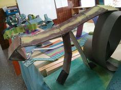 Escola Pau Casals. Taller escultures