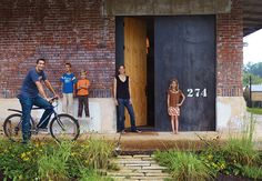 """In Alabama, a commercial building with a multifarious past begins a fresh chapter for a young family after a modern <a href=""""http://www.dwell.com/homes/renovation"""">renovation</a>."""