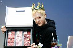 Btob Minhyuk, Ice Cream, Desserts, Food, No Churn Ice Cream, Tailgate Desserts, Deserts, Icecream Craft, Essen