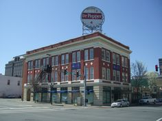 Dr. Pepper sign--Roanoke VA