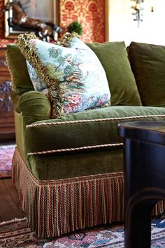 Color Outside the Lines: TUESDAY: Inspiring Spaces by Delores Arabian Couch.
