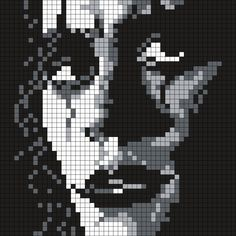 Brandon_Lee_as_the_Crow_(_Sq.) by Maninthebook on Kandi Patterns