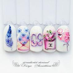 Rose Nails, Flower Nails, My Nails, Ongles Pin Up, Gel Nail Art, Nail Manicure, Fancy Nails, Pretty Nails, Nail Art Wheel