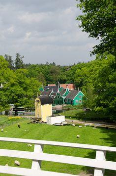 Openluchtmuseum, Arnhem, Gelderland.
