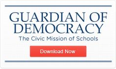 """Blog on Democracy in Our Nation's Schools cross posted on the Campaign for the Civic Mission of Schools """"Civic Learning in the News"""""""
