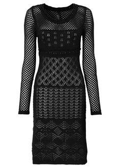 Klänning svart beställa online - bonprix.se