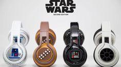 """Que tal ouvir música com um fone inspirado nos personagens de """"Star Wars"""""""