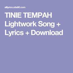 TINIE TEMPAH Lightwork Song + Lyrics + Download