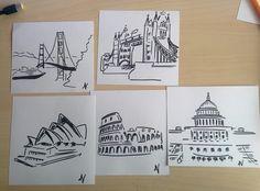 Sketching fast)