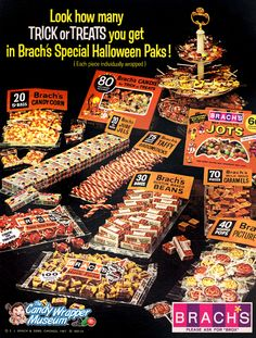 1967 Brach's Halloween candy bat Jots etc photo vintage print ad Retro Halloween, Vintage Halloween Images, Halloween Goodies, Halloween Candy, Holidays Halloween, Happy Halloween, Vintage Photos, Halloween Decorations, Halloween Pictures