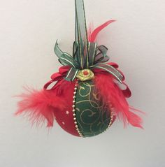 Classic Christmas bauble.